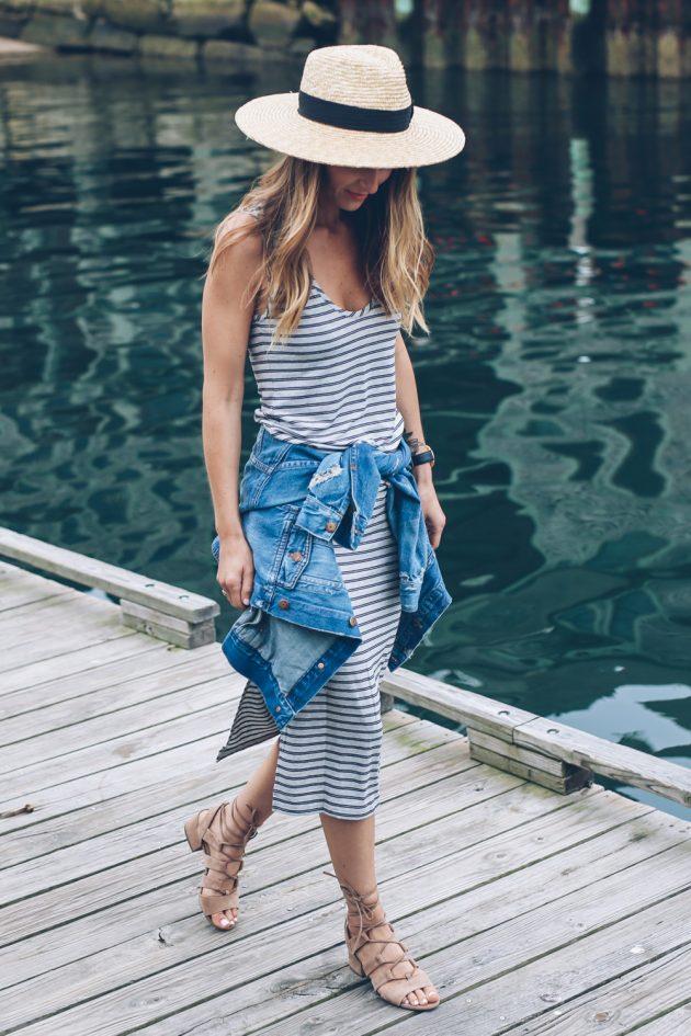 идея для модные луки для отдыха на море фото течение суток