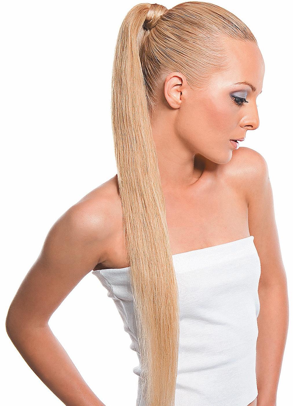 красивые прически на длинные волосы - прически Конский хвост: классика не выходит из моды.