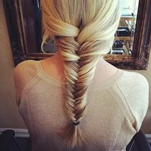 красивые прически на длинные волосы - «Игра престолов»: сложное плетение волос.
