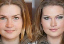 Работаем над овалом лица: большие щеки