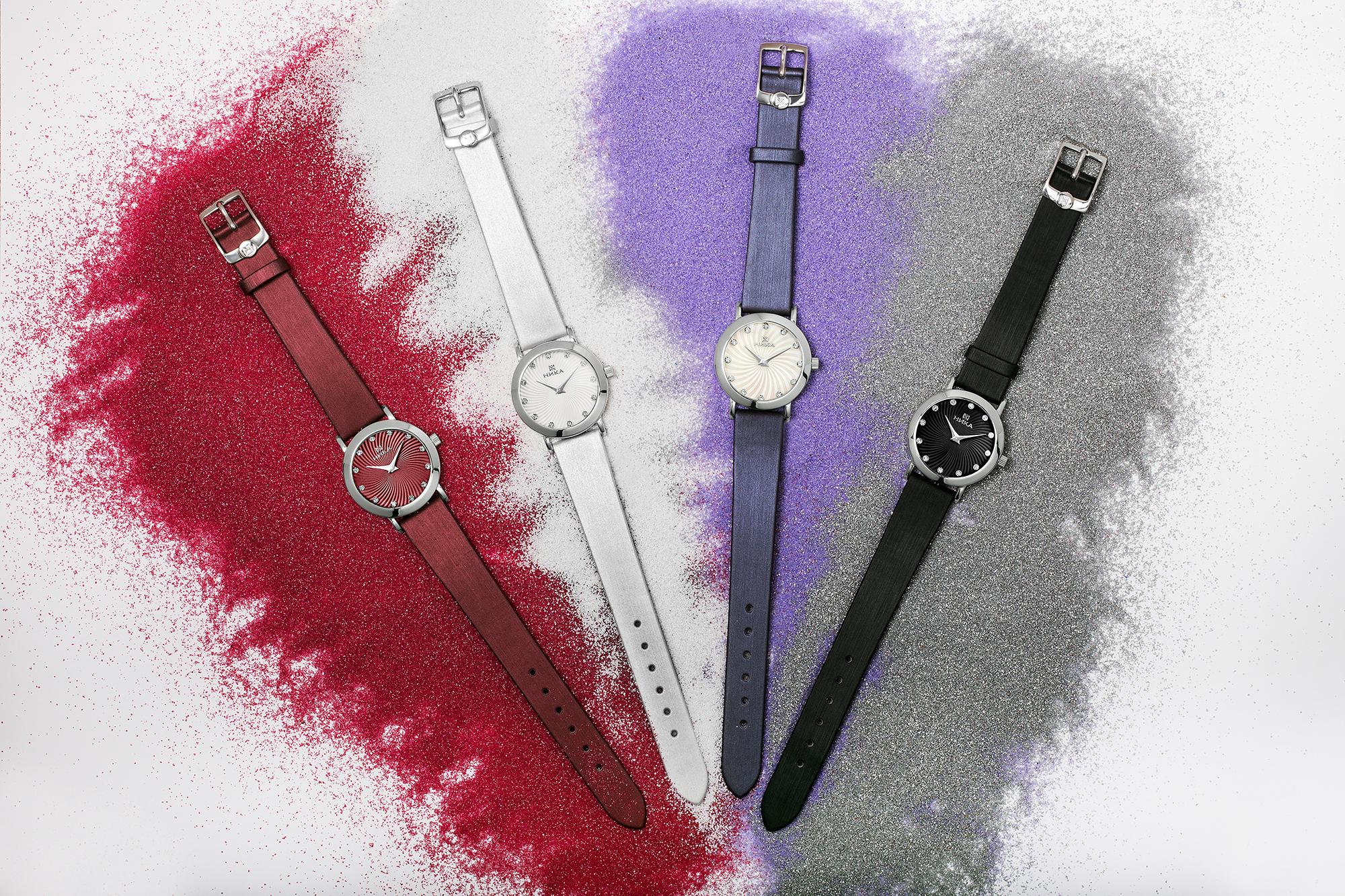 НИКА представляет осеннюю коллекцию женских часов Slimline