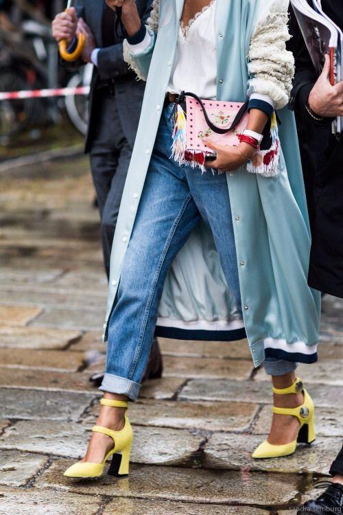 7511182f710 Модные джинсы  одни крутые джинсы и 32 разных сочетаний ♡
