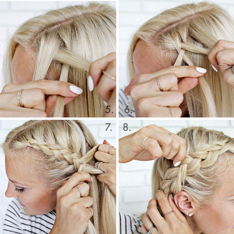 Научиться поэтапно плести косы фото