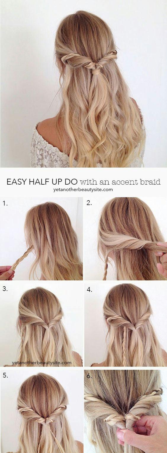 Пошаговая инструкция, как сделать прическу на длинных волосах своими руками