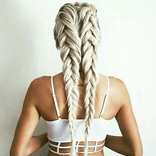 Модные косы новая прическа для девушек