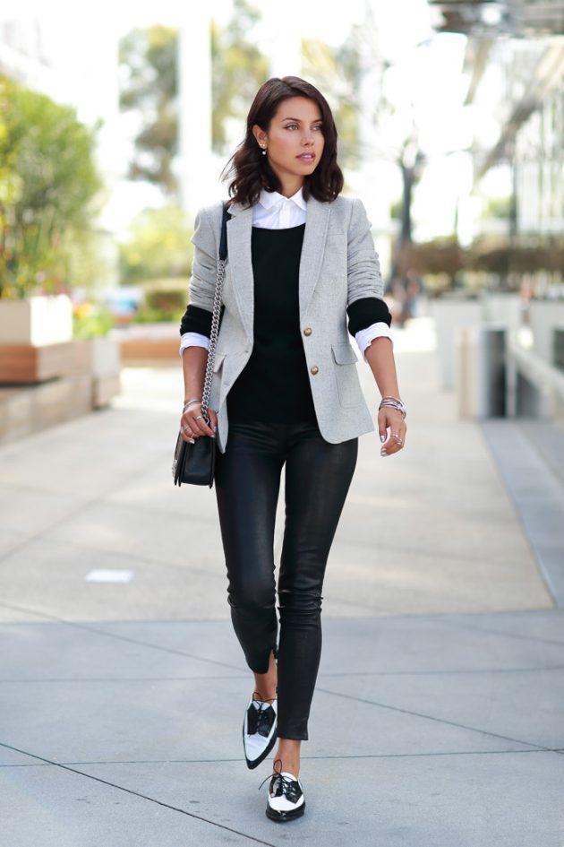 Серая одежда – не значит скучная. Как носить самый модный цвет ...