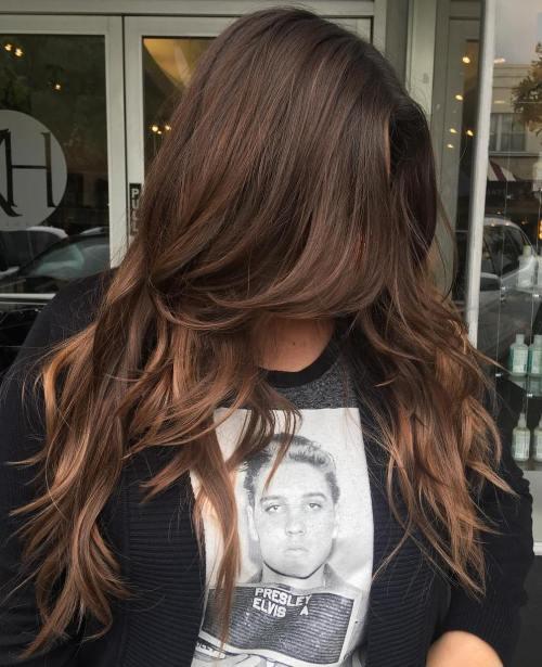 Роскошные длинные волосы, новая модная стрижка 2020