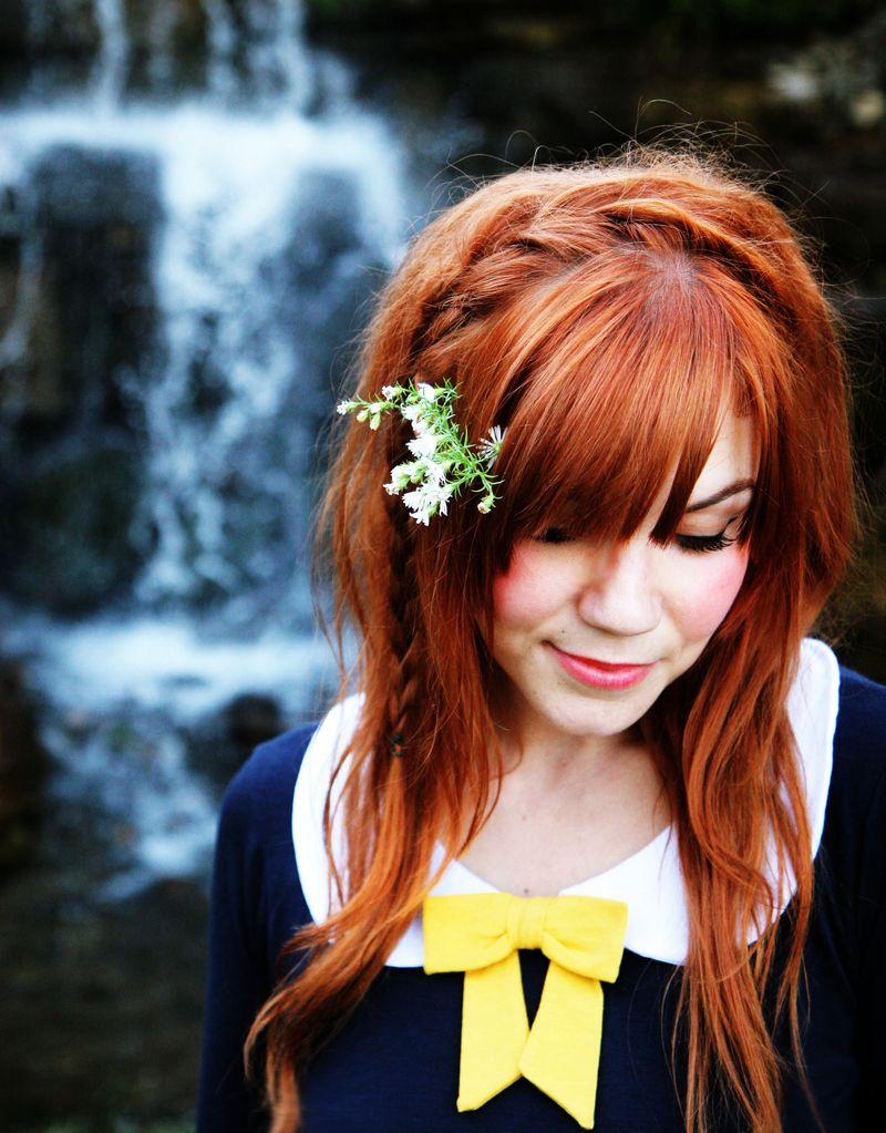 Прическа с цветами и косой - фото мастер класс
