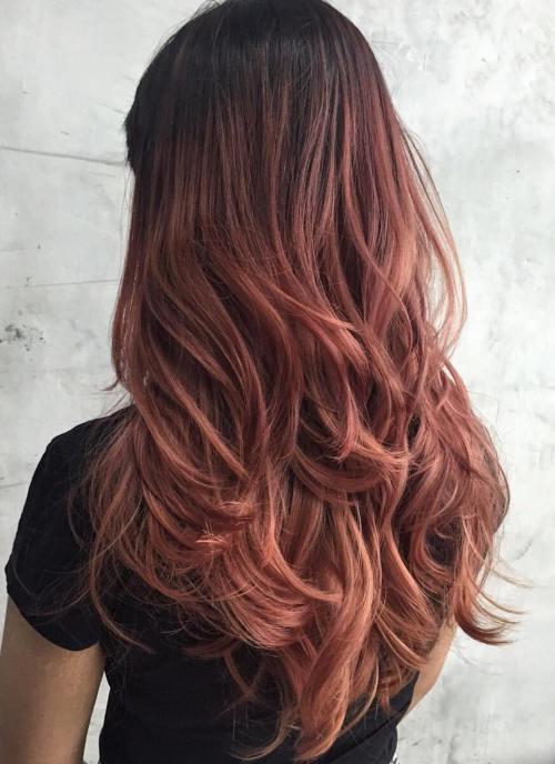 Красивые длинные волосы стрижка - фото женские с красивым насыщенным цветом волос