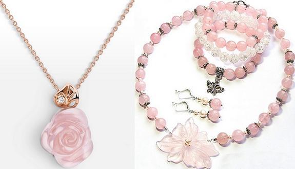 Розовый кварц - камень оберег для семьи