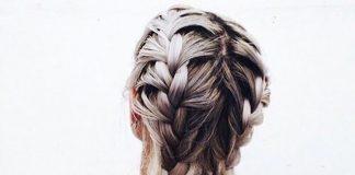 Прически на средние волосы с косой
