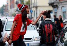 Уличная мода 2017: модные шапки фото