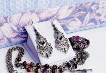 Модные украшения с гематитом