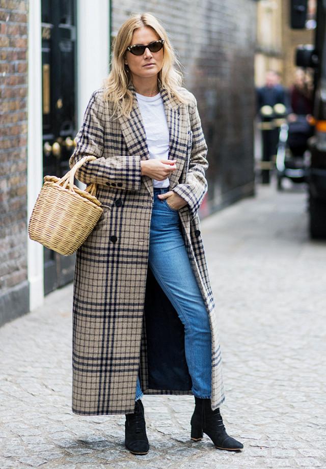 Длинное пальто для низких девушек