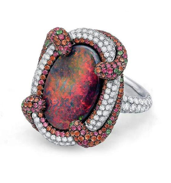 Опал, как отличить подделку камня