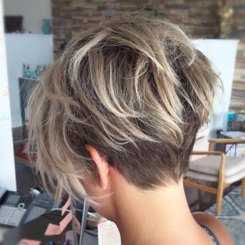 пикси для тонких волос
