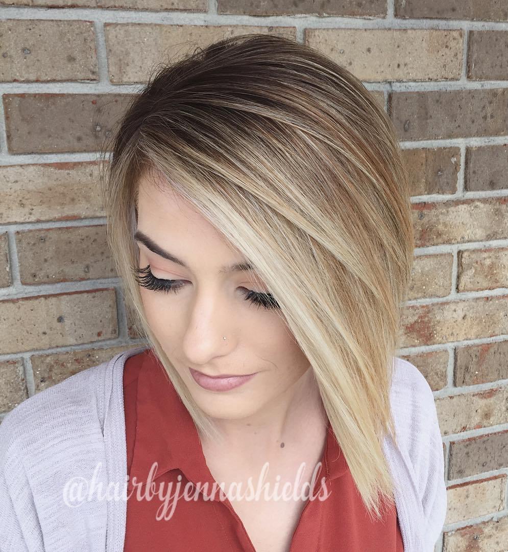 стрижка каре для тонких волос