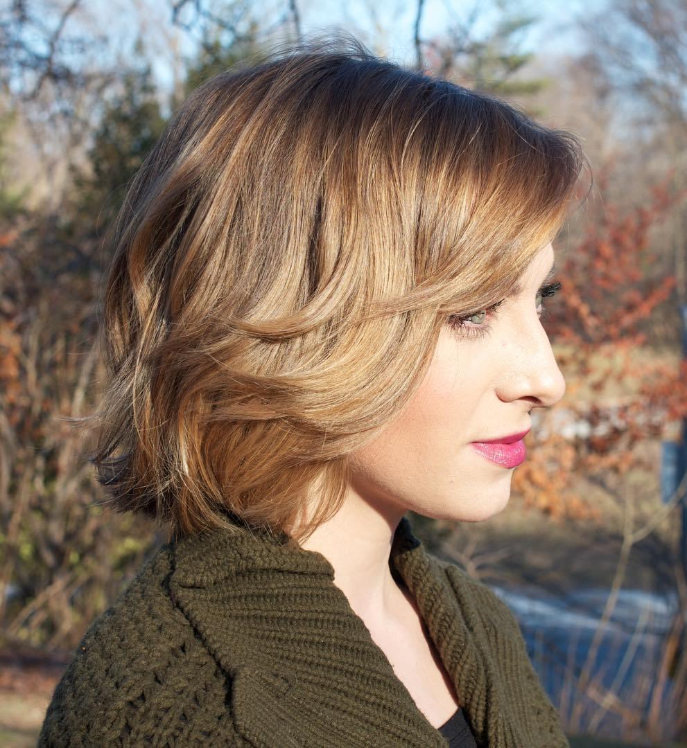 стрижка боб для коротких волос