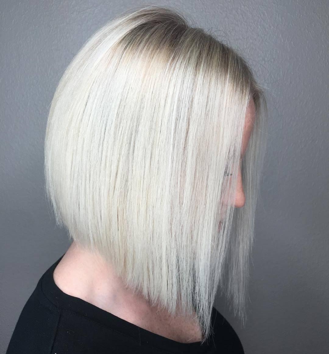 градуированная стрижка каре для тонких волос