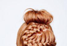 Прическа – пучок с косой – пошаговый мастер-класс