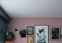 Идеи интерьера в розовом цвете
