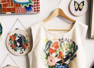 Идеи украшения одежды: вышивка