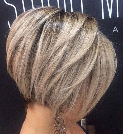 стрижка для пышных волос - каре боб