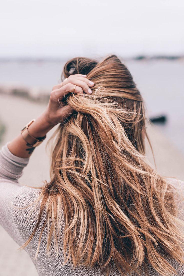 градуированная стрижка каскад на длинные волосы