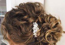 Свадебные прически с кудрями: 20 идей