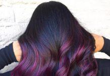 Цвет волос: 20 фиолетовых оттенков