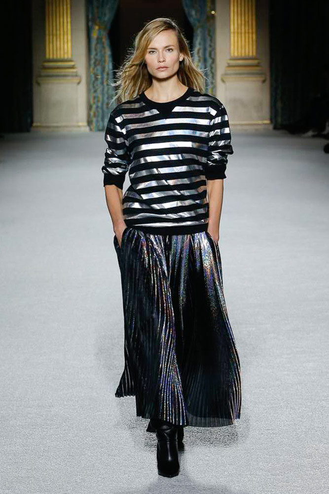 Balmain модная блестящая юбка 2019 с карманами