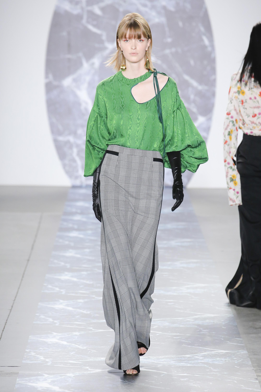 Hellessy длинная модная юбка 2010 в клетку