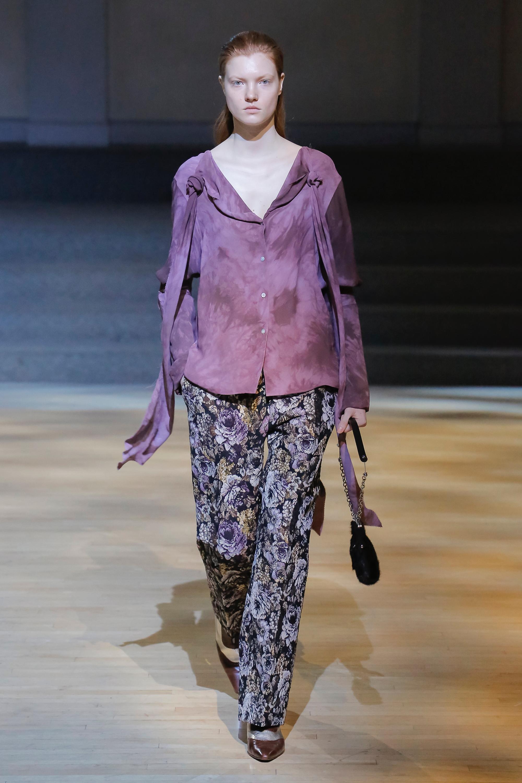 Linder модная юбка 2019 фиолетового цвета