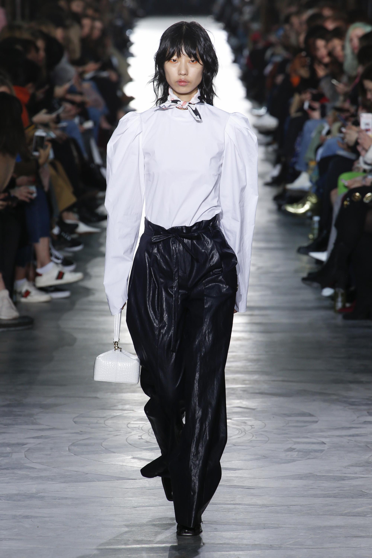 Rejina Pyo модная блузка 2019 белого цвета