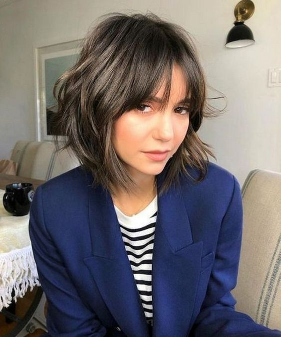 модная женская стрижка боб 2020 - фото новинки сезона