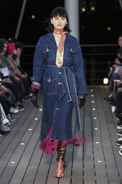 5 Knot новая модель модного джинсового пальто 2019
