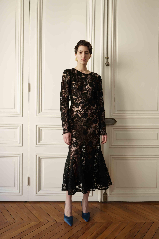 A.M.G. 3 черное кружевное платье 2019