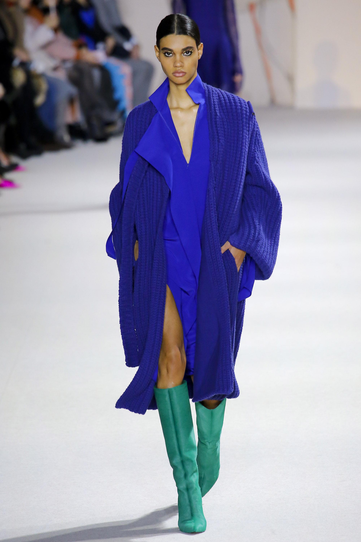 Akris модный кардиган 2019 ультра-синего цвета