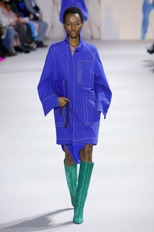 Akris синяя модная куртка ветровка 2019
