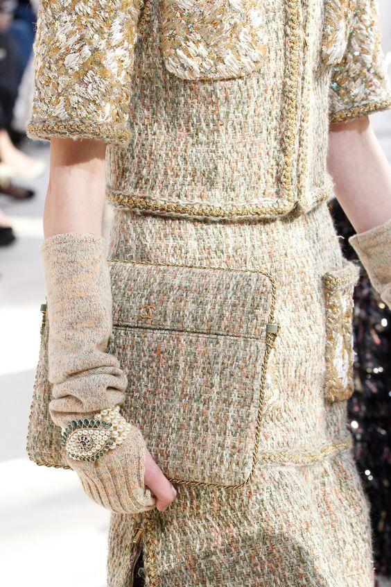 Вязаная сумка в коллекции Chanel