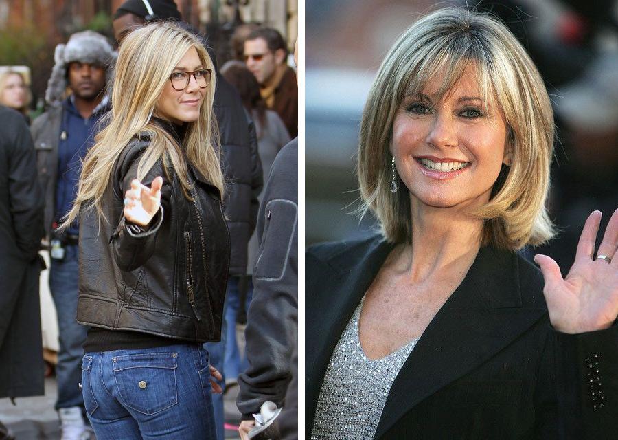 фото, как длинные стрижки выглядят на женщинах после 40 лет